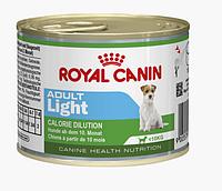 Влажный корм Роял Канин Royal Canin ADULT LIGHT WET для взрослых собак 195 гр