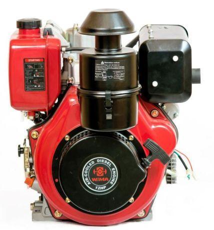 Двигатель дизельный WEIMA WM186FВЕ  F2 ЦИЛИНДР сьем