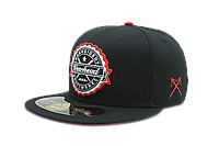 Кепка снепбек Black Red underbrim