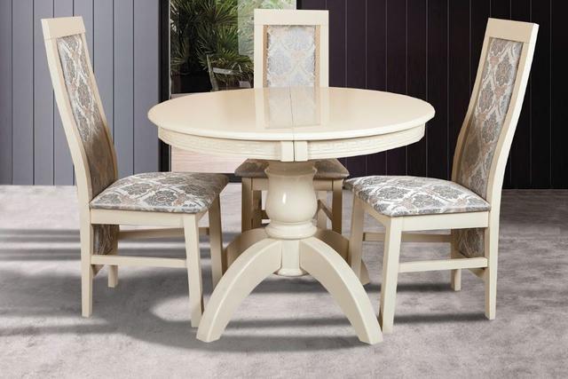 Комплект мебели Престиж + Катрин (3 шт) слоновая кость