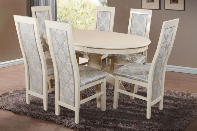 Комплект мебели Престиж + Катрин (6 шт) слоновая кость