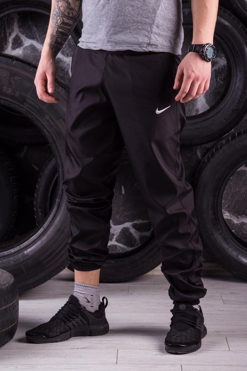 Спортивные штаны черные Nike (Найк)