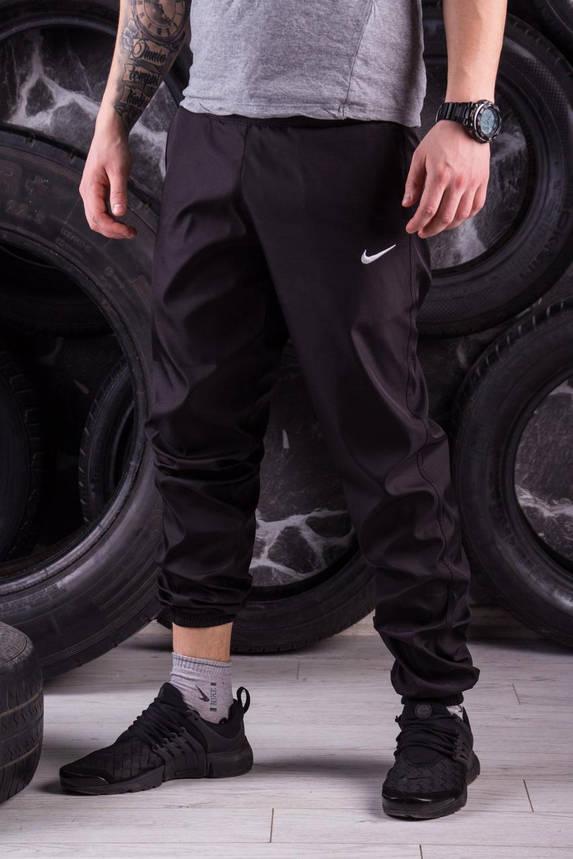 Спортивные штаны черные Nike (Найк), фото 2