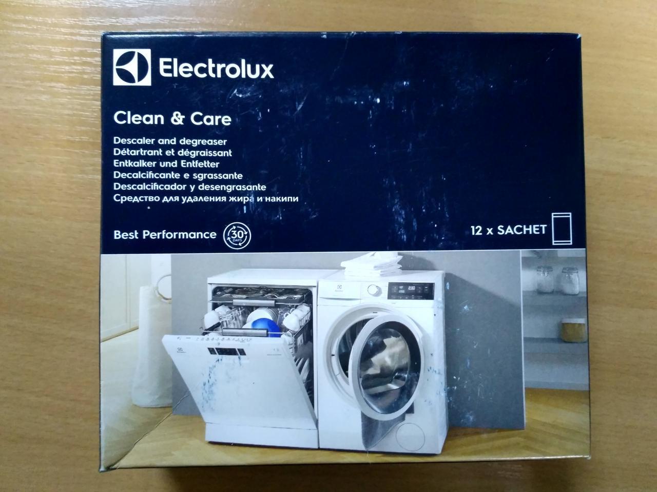 Професійний засіб для видалення накипу Electrolux (12 пакетиків, Італія)