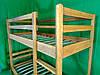 """Дубовая двухъярусная кровать """"Люкс"""", фото 3"""