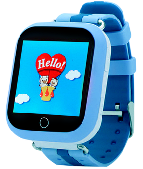 Часы Smart Watch Q100 Kids Blue Гарантия 1 месяц, фото 2