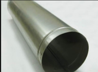 Труба дымохода диаметр 150 мм нерж 0,8 мм 1 метр