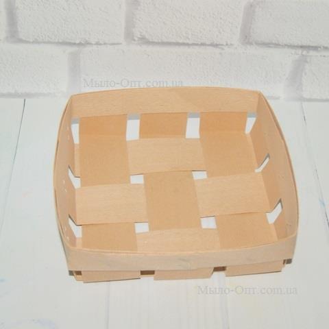 Упаковка в корзинку с наполнителем