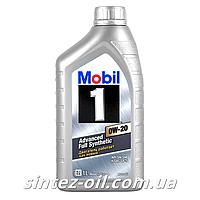 Моторное масло Mobil 1 0W-20 (1л)