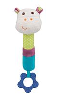 Игрушка-пищалка BabyOno Микки, с прорезывателем