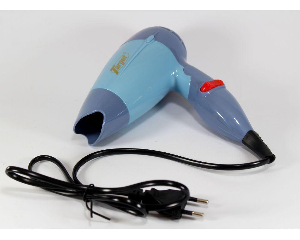 Компактный дорожный фен для волос Target TG-1395 ,мощность 1000Вт, Два скоростных режима CG23 PR2
