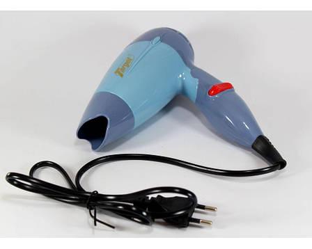Компактный дорожный фен для волос Target TG-1395 ,мощность 1000Вт, Два скоростных режима CG23 PR2, фото 2