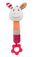 Игрушка-пищалка BabyOno Франки, с прорезывателем