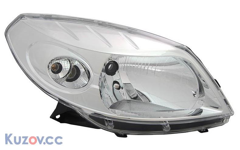 Фара правая Dacia Sandero 09- (TYC)