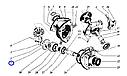 Шестерня коническая углового редуктора Палессе, фото 2