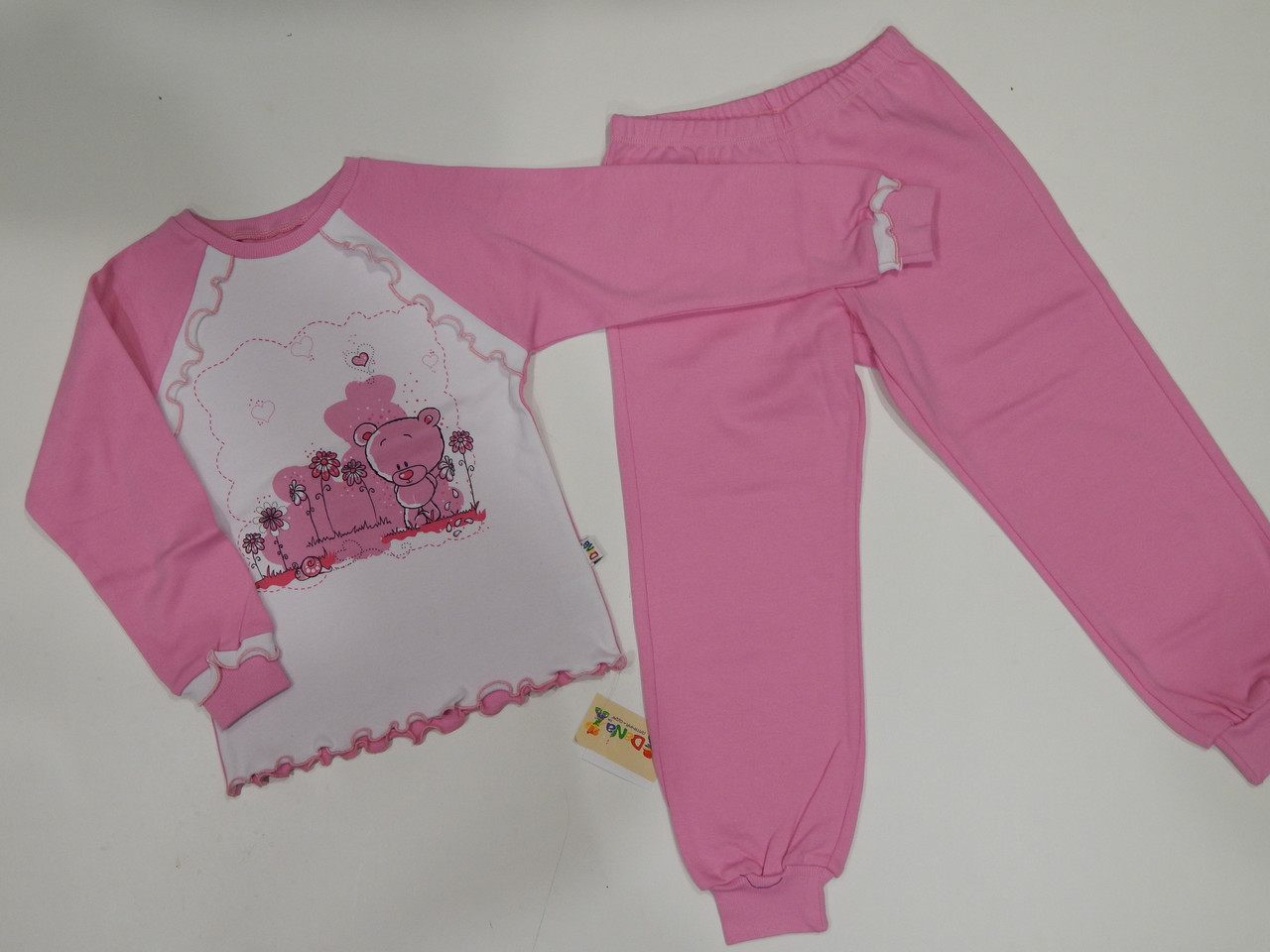 Пижама для девочки интерлок р.116