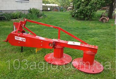 Косарка роторна Tad-Lan 1,35 коротка навіска (на китайські трактори)