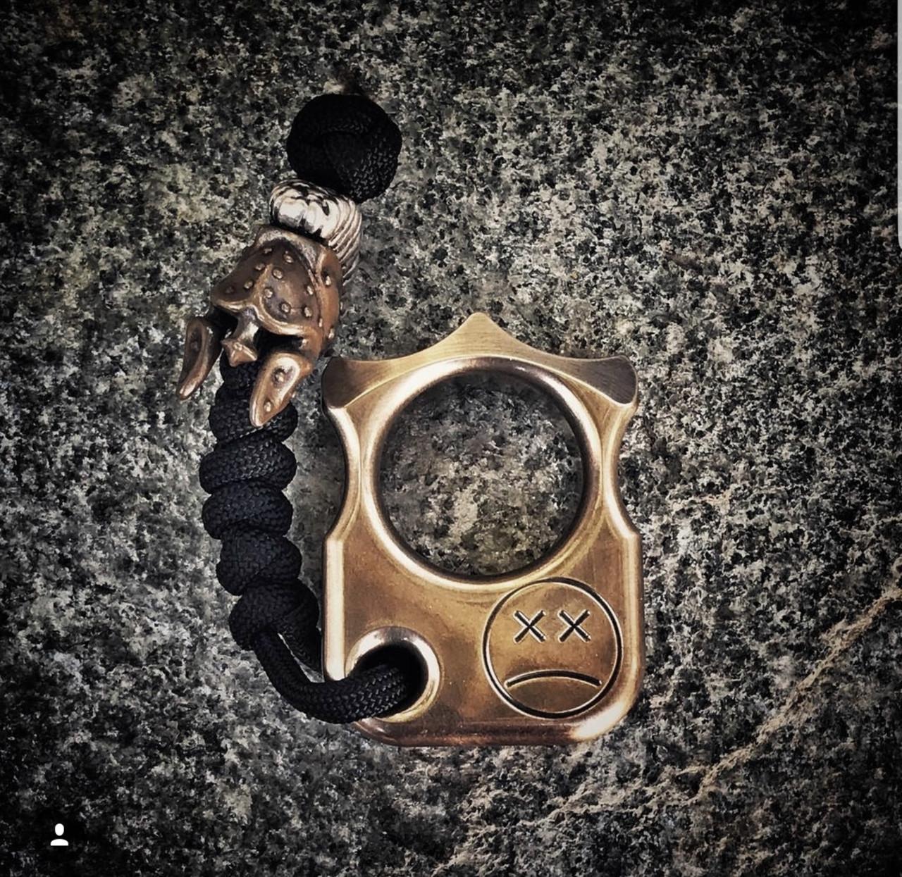 Кастет Брелок SFK Афранкарт #03 | Кастет на один палец  | Afrankart EDC KNUCK D16 - Сopper by Andy Frankart