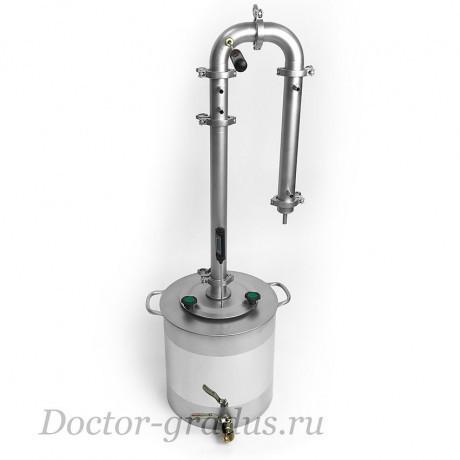 """Дистиллятор Доктор Градус """"Стиллмен 400"""" с кубом 21 литров"""