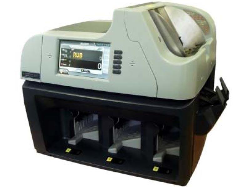 Magner 350 Трехкарманный сортировщик валюты с функцией ветхования