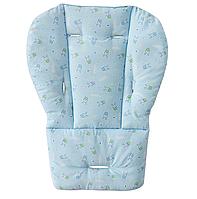 Матрасик в коляску, автокресло, стульчик для кормления Голубой(05118), фото 1