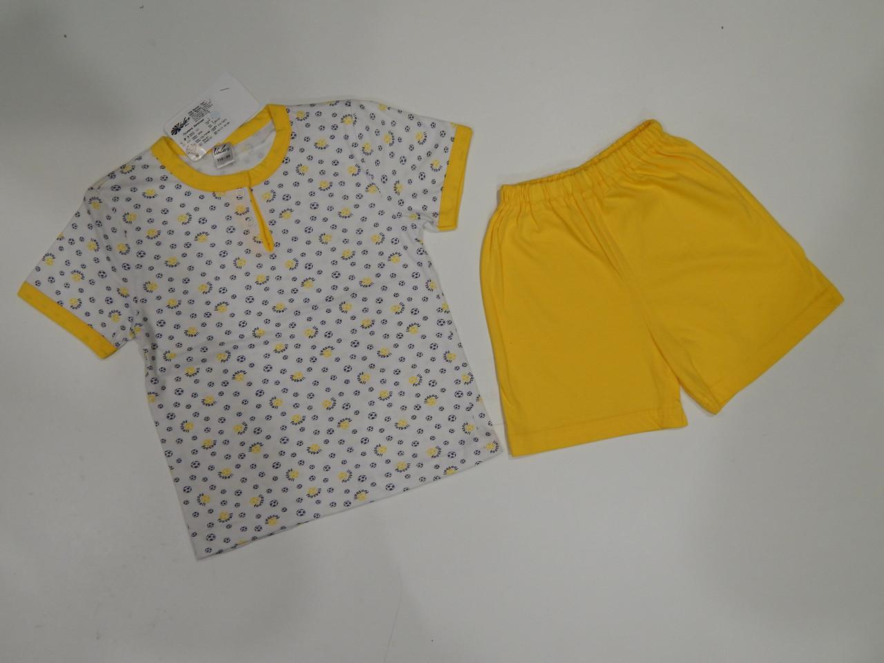 Пижама для мальчика р.110