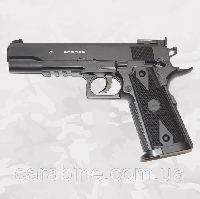 Пневматический пистолет Borner Power Win 304 (Colt) газобаллонный CO2