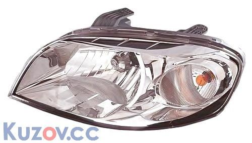Фара правая Chevrolet Aveo T250 06- (TYC)