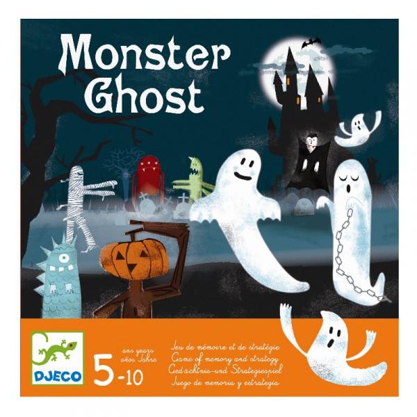 """DJECO Настільна гра """"Monster Ghost"""", монстри приведення"""