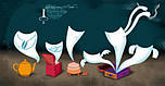 """DJECO Настільна гра """"Monster Ghost"""", монстри приведення, фото 4"""