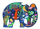 "DJECO Puzz Art Арт Пазл ""Слон"", 150 деталей, фото 2"