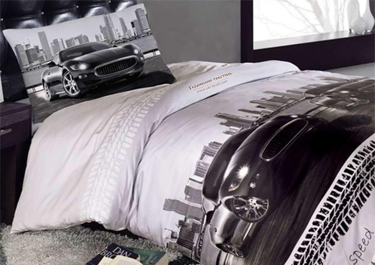 Комплект постільної білизни Машина