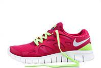 d8cdd086 Женские кроссовки Nike Free Run Plus 2 Pink Green размер 36  UaDrop116855-36, КОД