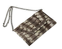 Клатч из кожи морской змеи  Ekzotic Leather Серый (snc 08_2)
