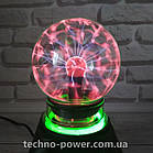 Плазменный шар Ночник Plasma Ball с подсветкой, фото 4