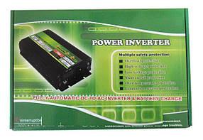 Преобразователь напряжения + зарядка 3200W inverter with charger 12 V/220 преобразователь электричества,, фото 2
