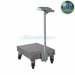 Весы – тележка на 150 кг ТВ1-150-50-R(400 х 550)-12 ра