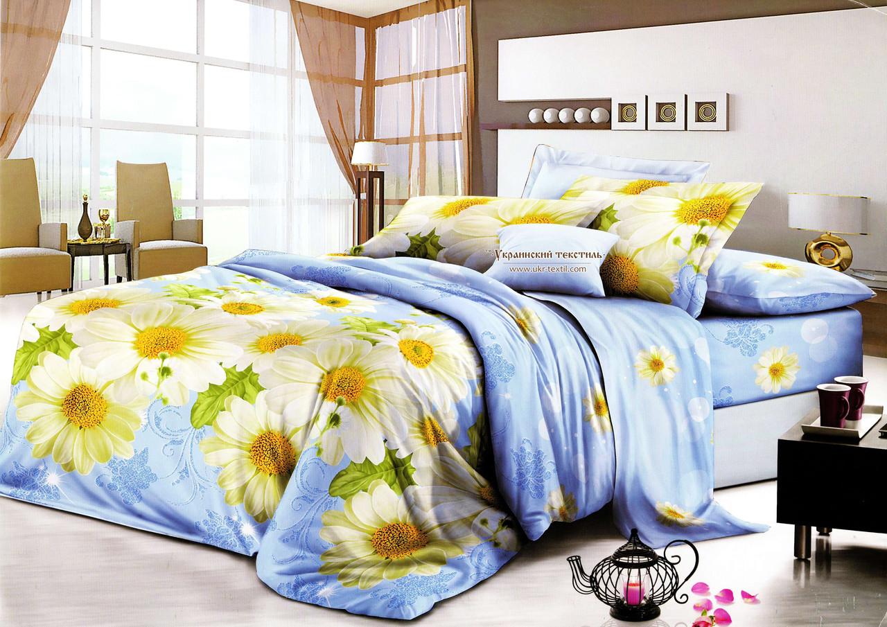 Комплект постельного белья  Ромашка