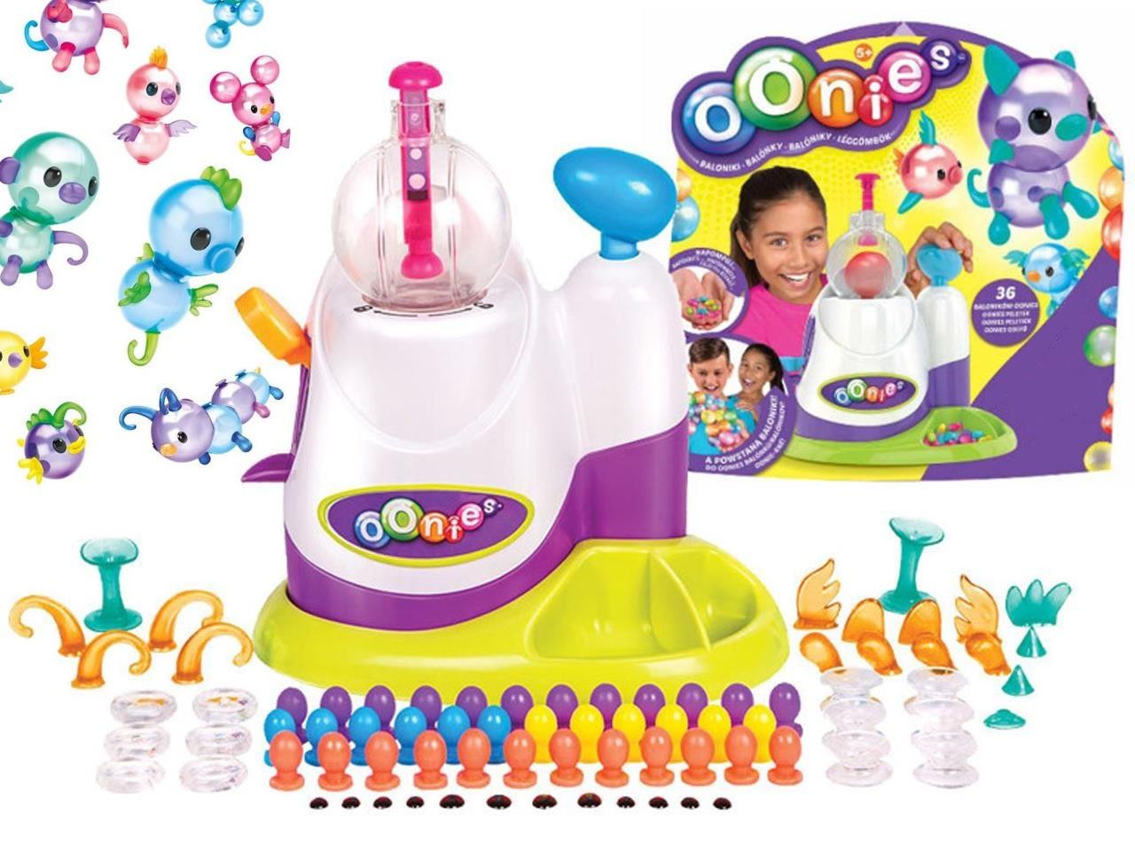 Интерактивная игрушка Oonise Inflator Starter Pack Набор липких воздушных шариков для творчества Онайс Oonise
