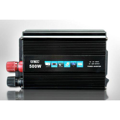 Перетворювач 12V-220V 500W перетворювач електрики, інвертор Перетворювач напруги постійного струму