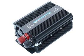 Перетворювач 12V-220V 500W перетворювач електрики, інвертор Перетворювач напруги постійного струму, фото 2