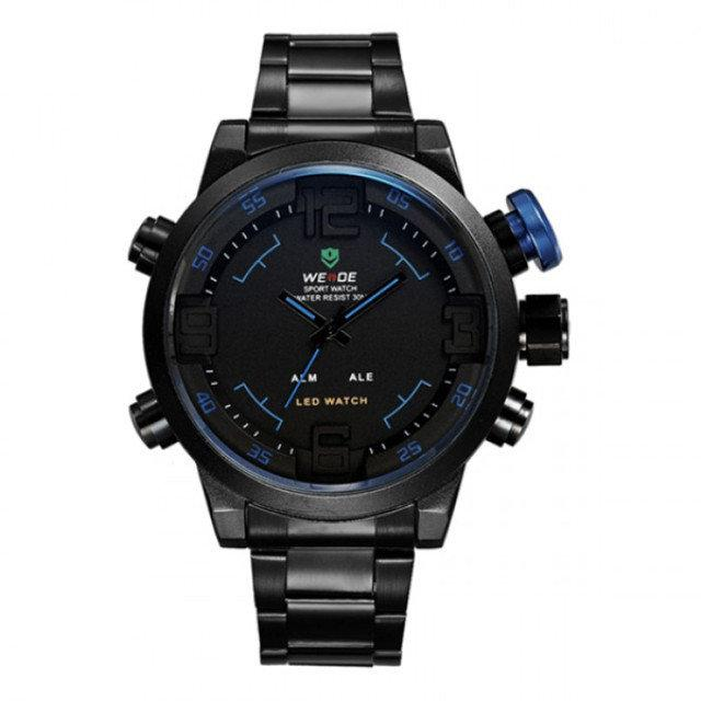 Спортивные Мужские Часы WEIDE SPORT 2309 Black, КОД  112068 — в ... 42803956efa