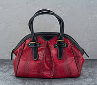 Сумка из кожи кобры  Ekzotic Leather Красная (snc 06), фото 1