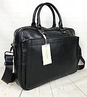 Мужская сумка-портфель David Jones.Вместительная сумка David Jones для документов. Мужские сумки и портфели.