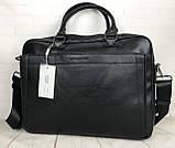 Мужская сумка-портфель David Jones.Вместительная сумка David Jones для документов. Мужские сумки и портфели., фото 3