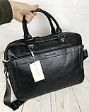 Мужская сумка-портфель David Jones.Вместительная сумка David Jones для документов. Мужские сумки и портфели., фото 7