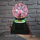 Плазменный шар Ночник Plasma Ball с подсветкой, фото 9