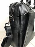 Мужская сумка-портфель David Jones.Вместительная сумка David Jones для документов. Мужские сумки и портфели., фото 8