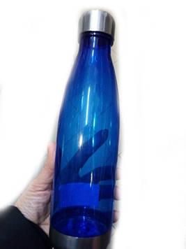 Бутылка для воды 40-10 (разные цвета)