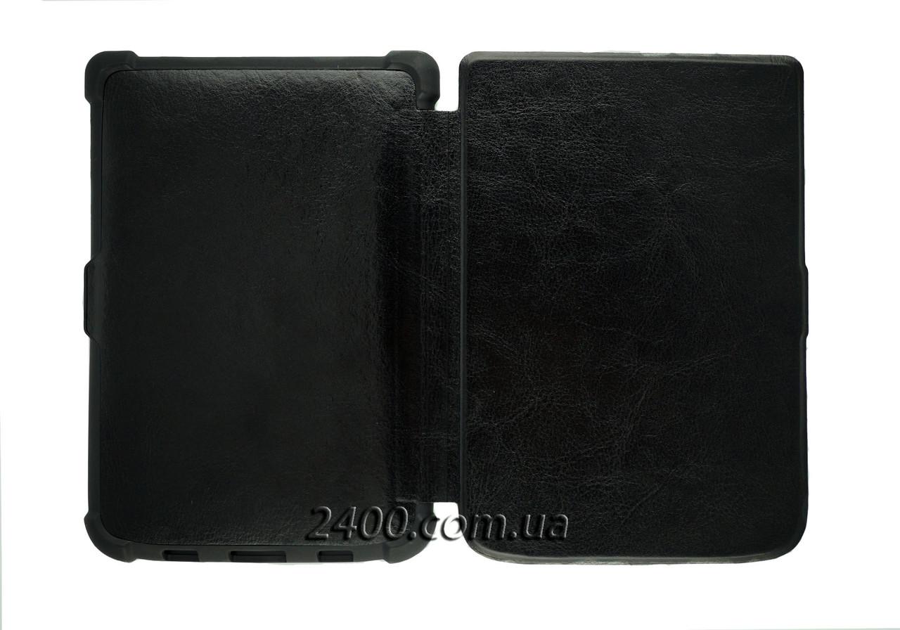 Обложка - чехол для электронной книги PocketBook 616 Basic Lux 2, 627 Touch Lux 4, 632 Touch HD3 Черный